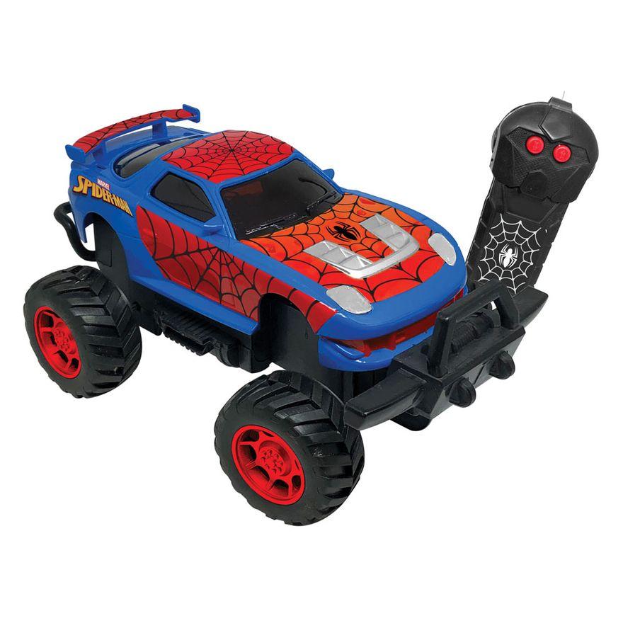 Carrinho de controle remoto Spider-Man - Candide