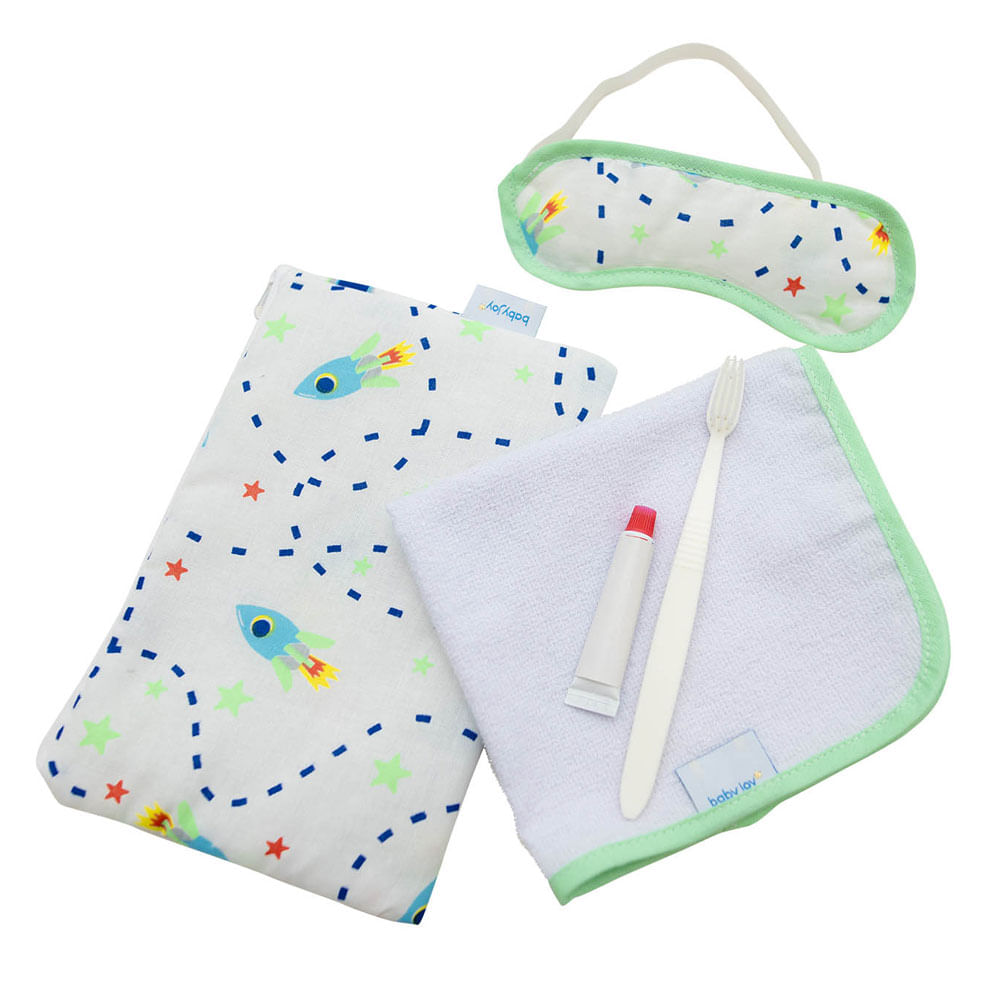 Conjunto de Acessórios - Baby Joy - Festa do Pijama - Masculino - Incomfral
