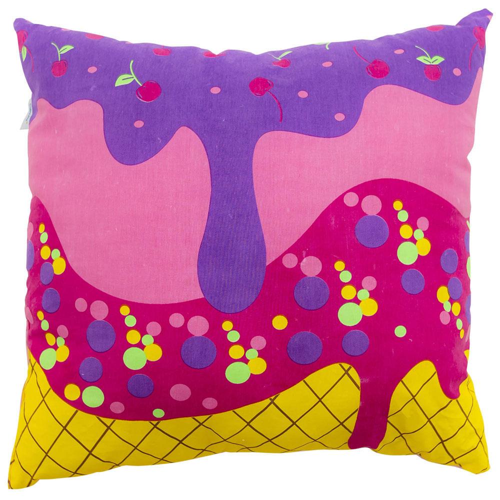 Almofada Baby Joy - Festa do Pijama Estampado - Feminino - Incomfral
