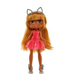 Boneca-Articulada---26-Cm---Boxy-Girls---Mila-com-Vestido-rosa---Candide