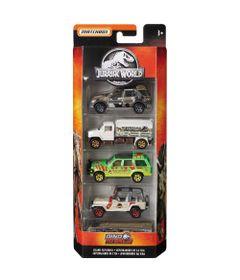 Carrinhos---Jurassic-World-2---Pack-com-5-Carrinhos---Aventureiros-da-Ilha---Mattel