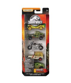 Carrinhos---Jurassic-World-2---Pack-com-5-Carrinhos---Equipe-D-Intervention-Terrestre---Mattel