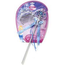 Conjunto-de-Acessorios---Varinha-Magica-e-Tiara---Disney---Cinderela---New-Toys