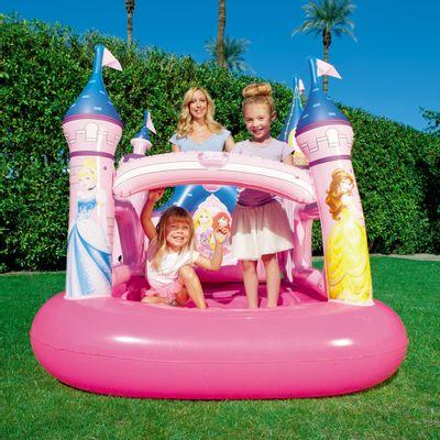 Pula-Pula-Inflavel---Disney---Princesas---Rosa---New-Toys