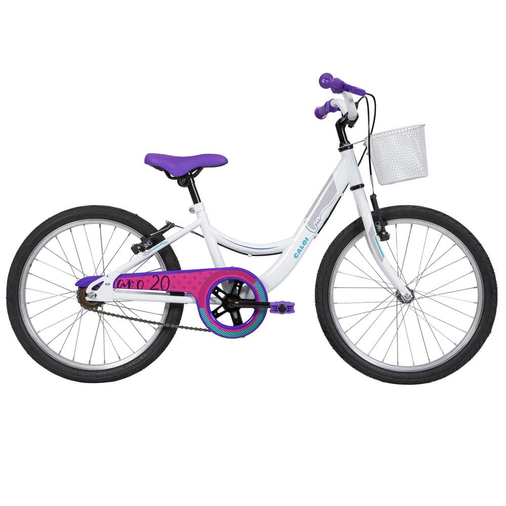 Bicicleta Aro 20 - Ceci - Branco - Caloi