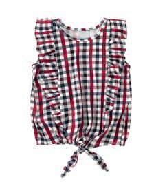 blusa-com-babado-xadrez-100--algodao-vermelho-malwee-1-1000061011_Frente