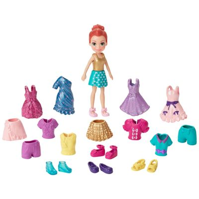 Boneca-Polly-Pocket-Ruiva---Polly-Pronta-para-a-Festa---Mattel