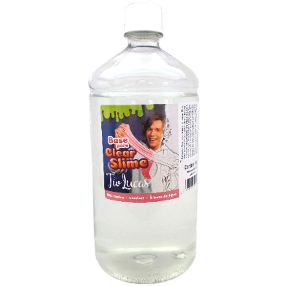 Base para Slime - 1 Kg - Clear Slime - Tio Lucas - Reval