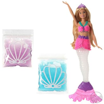 Boneca Barbie Mermaid Barbie Sereia Slime Mattel