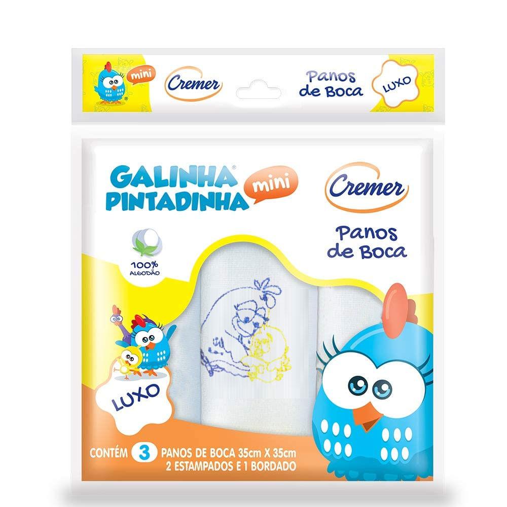 Pano de Boca - Galinha Pintadinha Mini - Luxo - Cremer