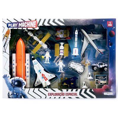 Conjunto de Veiculos Play Machine Exploracao Espacial Multikids