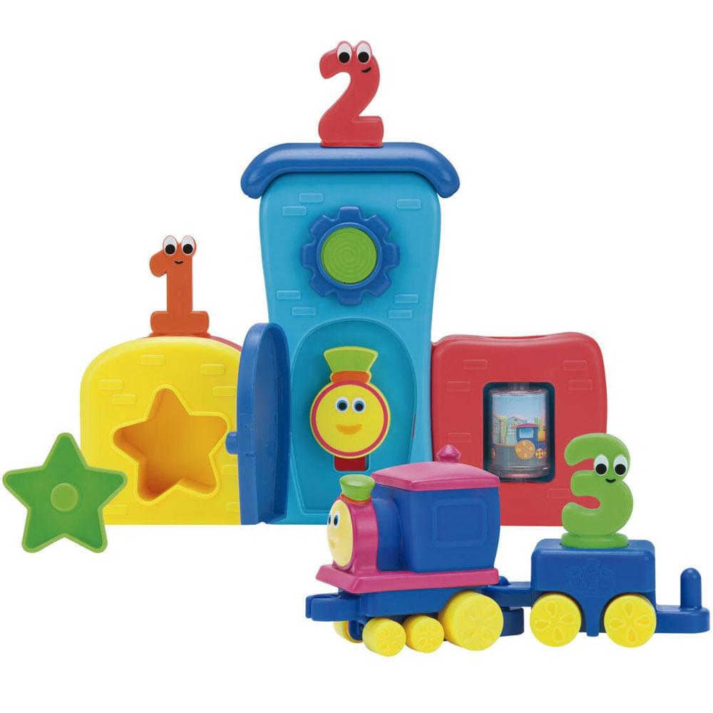 Playset e Mini Veículo - Bob O Trem - Pela Cidade - Fun