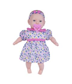 Boneca---44cm---My-Sweet-Baby---Vestido-Rosa-com-Folhas-e-Flor--Cotiplas_Frente