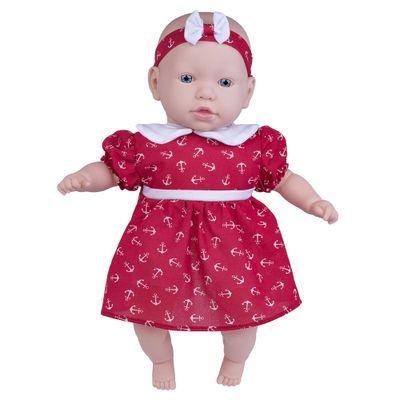 Boneca---44cm---My-Sweet-Baby---Vestido-Vermelho-vom-Ancora---Cotiplas_Frente