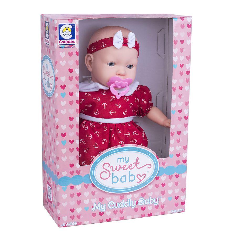 Boneca---44cm---My-Sweet-Baby---Vestido-Vermelho-vom-Ancora---Cotiplas_Embalagem
