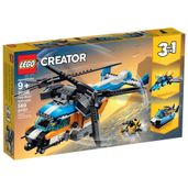 LEGO-Creator---3-em-1---Helicoptero-com-2-Helices---31096