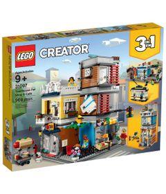 LEGO-Creator---3-em-1---Townhouse-Pet-Shop-e-Cafe---31097