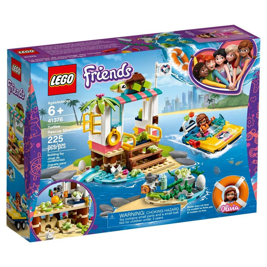 LEGO-Friends---Missao-de-Resgate-da-Tartaruga---41376