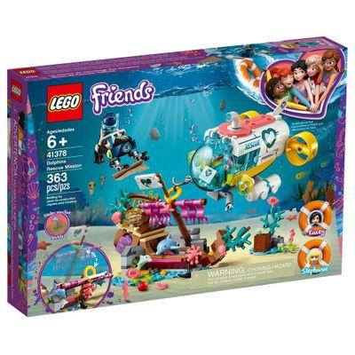 LEGO-Friends---Missao-de-Resgate-do-Golfinho---41378