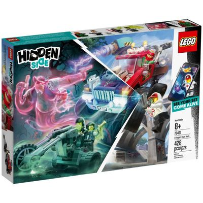 LEGO-Hiden-Side---Caminhao-de-Acrobacias---70421