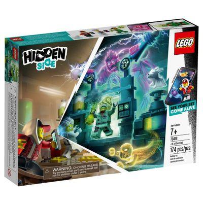LEGO Hiden Side Laboratorio Fantasma do J.B 70418