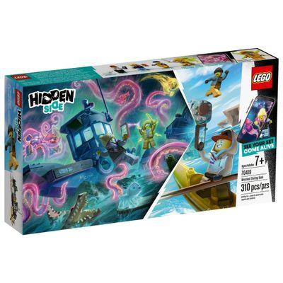 LEGO-Hiden-Side---Pesca-no-Navio-Naufragado---70419