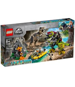 LEGO-Jurassic-World---T-Rex-Vs-Robo-Dino---75938