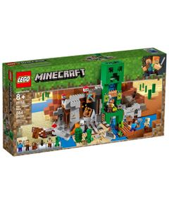 LEGO-Minecraft---A-Mina-do-Creeper---21155