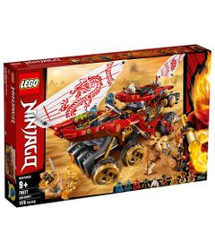 LEGO-Ninjago---Carro-de-Assalto-Ninja---70677