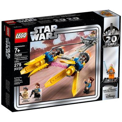 LEGO-Star-Wars---Disney---Edicao-20-Aniversario---Anakin-s-Podracer---75258