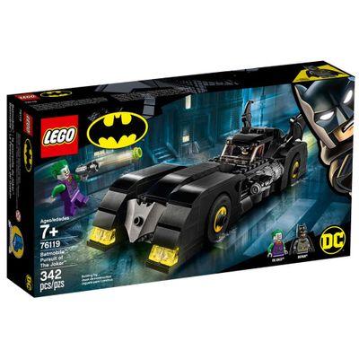 LEGO-Super-Heroes---DC-Comics---Batman---Batmovel-Perseguicao-do-Coringa---76119
