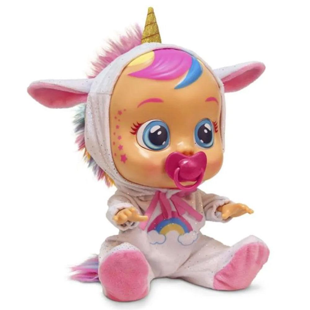 Boneca Cry Babies - Sons e Lágrimas de Verdade - Dreamy - Multikids