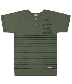 Camisa-Infantil---Manga-Curta-Listrada---Verde---Livy-Malhas---1