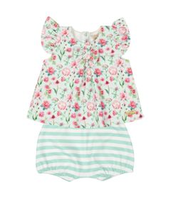 Conjunto-Infantil---Bata-e-Shorts-Balao---Floral---Livy-Malhas---G