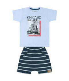 Conjunto-Infantil---Camisa-Manga-Curta-e-Bermuda---Azul---Livy-Malhas---1