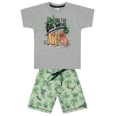 Conjunto-Infantil---Camisa-Manga-Curta-e-Bermuda---Surf---Mescla---Livy-Malhas---1