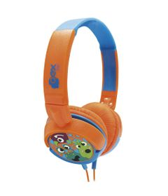 Headphone-Infantil---Boo---Laranja-e-Azul---OEX-Kids