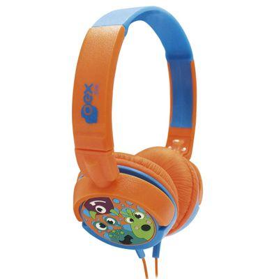 Headphone-Infantil---Boo---Laranja-e-Azul---OEX-Kids