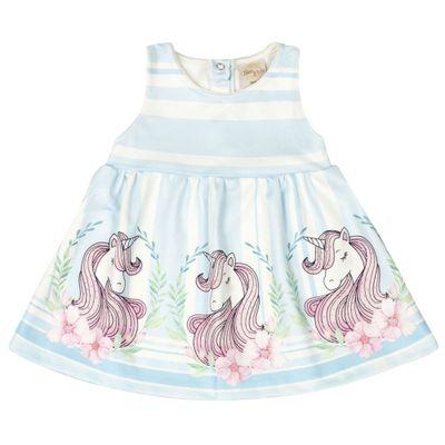 Vestido-Infantil---Estampa-Unicornio---Azul---Livy-Malhas---P