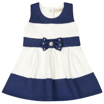Vestido-Infantil---Lacinho-Azul---Listrado-Azul-e-Branco---Livy-Malhas---P