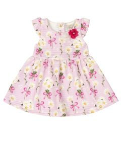 Vestido-Infantil-Sem-Manga---Floral---Rosa---Livy-Malhas---P