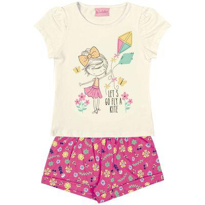 conjunto-short-e-blusa-em-algodao-floral-amarelo-e-pink-duduka-tam-3-1347773_Frente