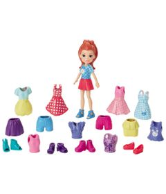 Boneca-Polly-Pocket-Ruiva---Lila-Fashion-Brilho-Perolado---Mattel