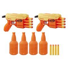 lancador-de-dardos-nerf-com-alvo-duplo-alpha-fang-qs-4-alpha-strike-hasbroE7564_frente