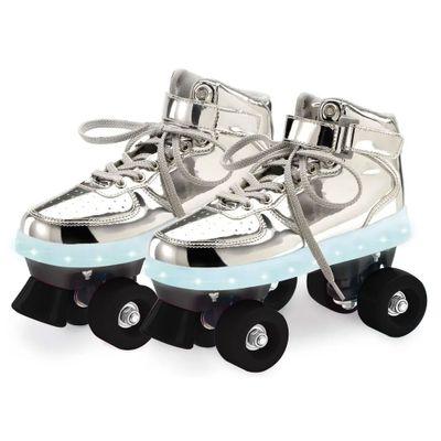 patins-classico-4-rodas-com-led-prateado-fun-tam-37-38-8310-3_Frente