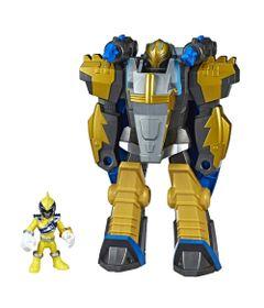 Figura-com-Luzes-e-Sons---25Cm---Power-Rangers---Power-Morph---Gold-Ranger-e-Ptero-Zord---Hasbro