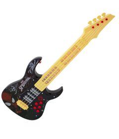 Guitarra-Eletronica---Ultimate-Spider-Man-Sinister-6---Marvel---Preto---Toyng