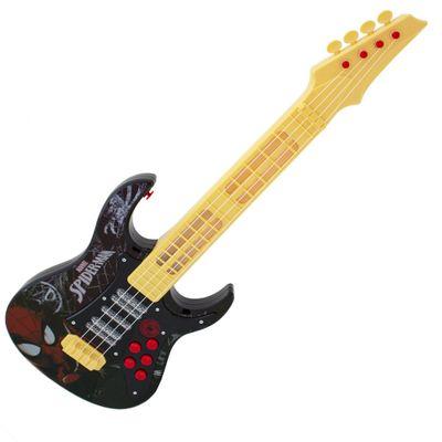 Guitarra-Eletronica---Ultimate-Spider-Man-Sinister-6---Marvel---Preto---Toyng