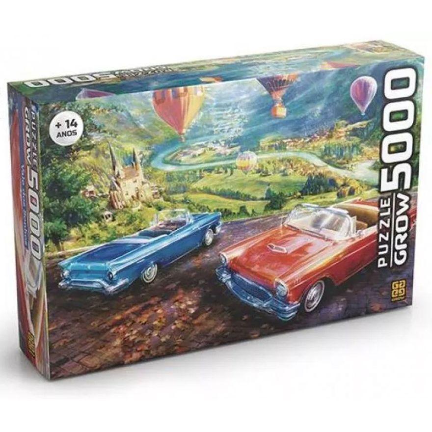 Quebra-Cabeca---5000-Pecas---Vale-dos-Sonhos---Paisagem-com-Baloes---Grow
