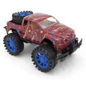 carrinho-de-friccao-disney-marvel-homem-aranha-pickup-com-suporte-no-teto-toyng-39214_Frente